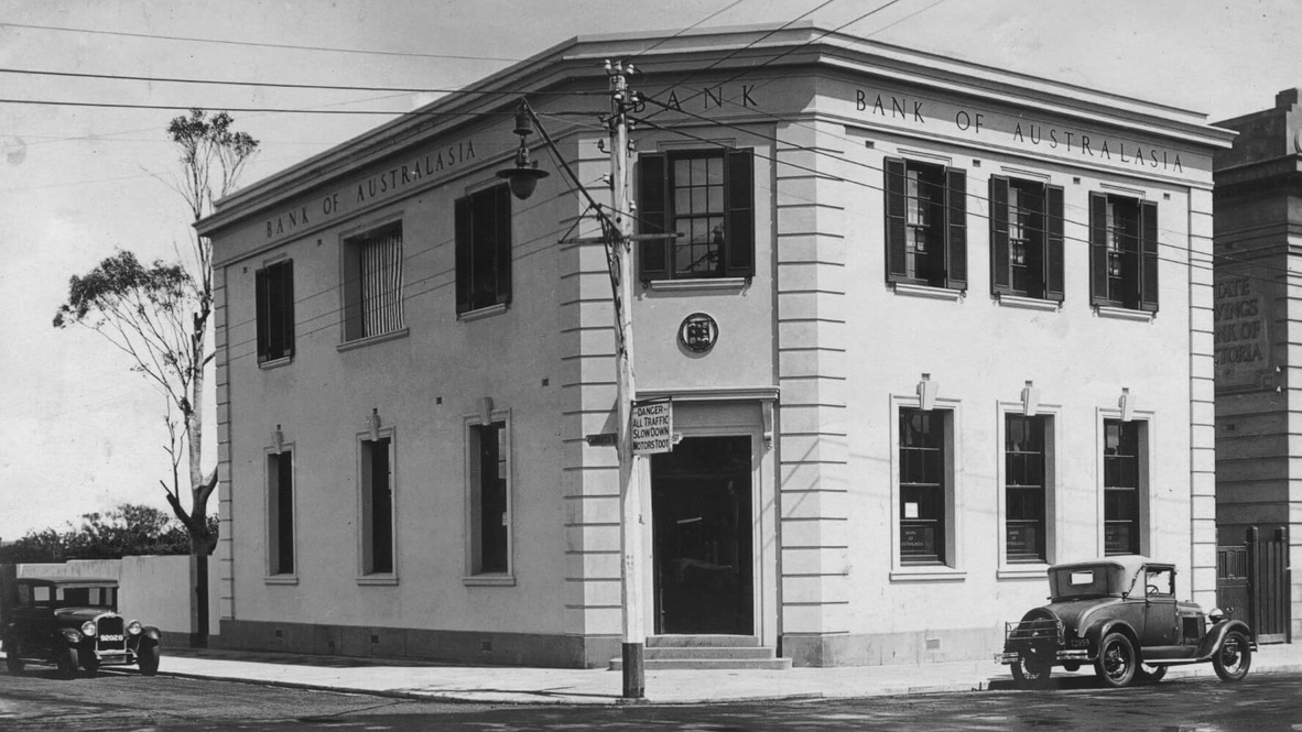 Bank of Australasia, Middle Brighton Branch