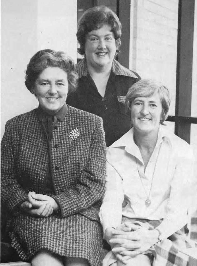 Joan Montgomery & her two Deputies